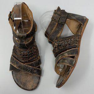 Bed Stu Capriana Teak Lux Gladiator Sandals 6
